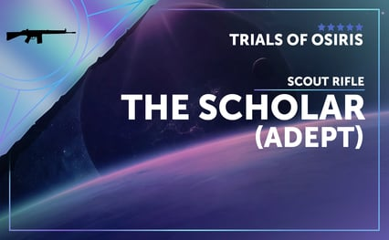 The Scholar - Scout Rifle (Adept)