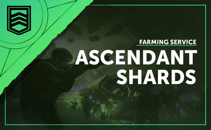 Ascendant Shard Farming Service - Vaulted Weapons