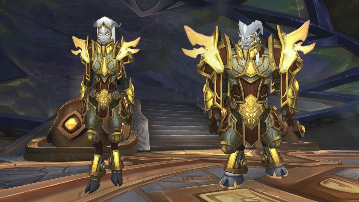 Army of the Light Exalted - Lightforged Draenei Unlock (from Honored)