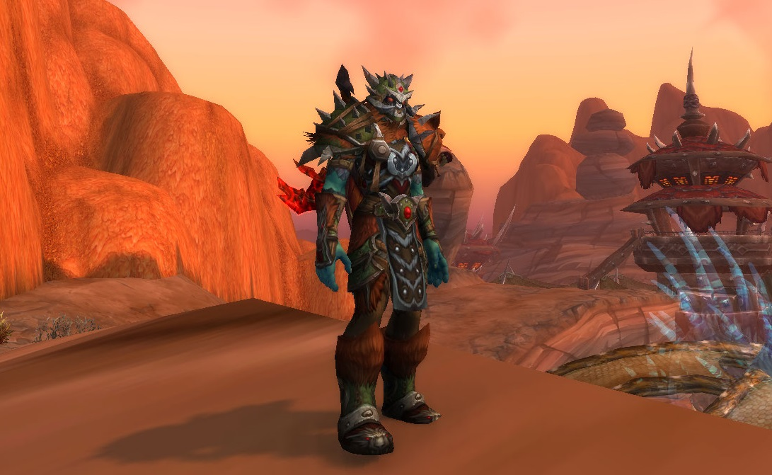 Level 117 Tauren Hunter [US]
