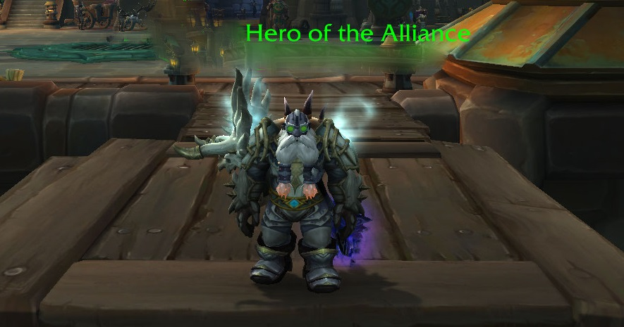 Level 120 Dark Iron Dwarf Paladin [EU]