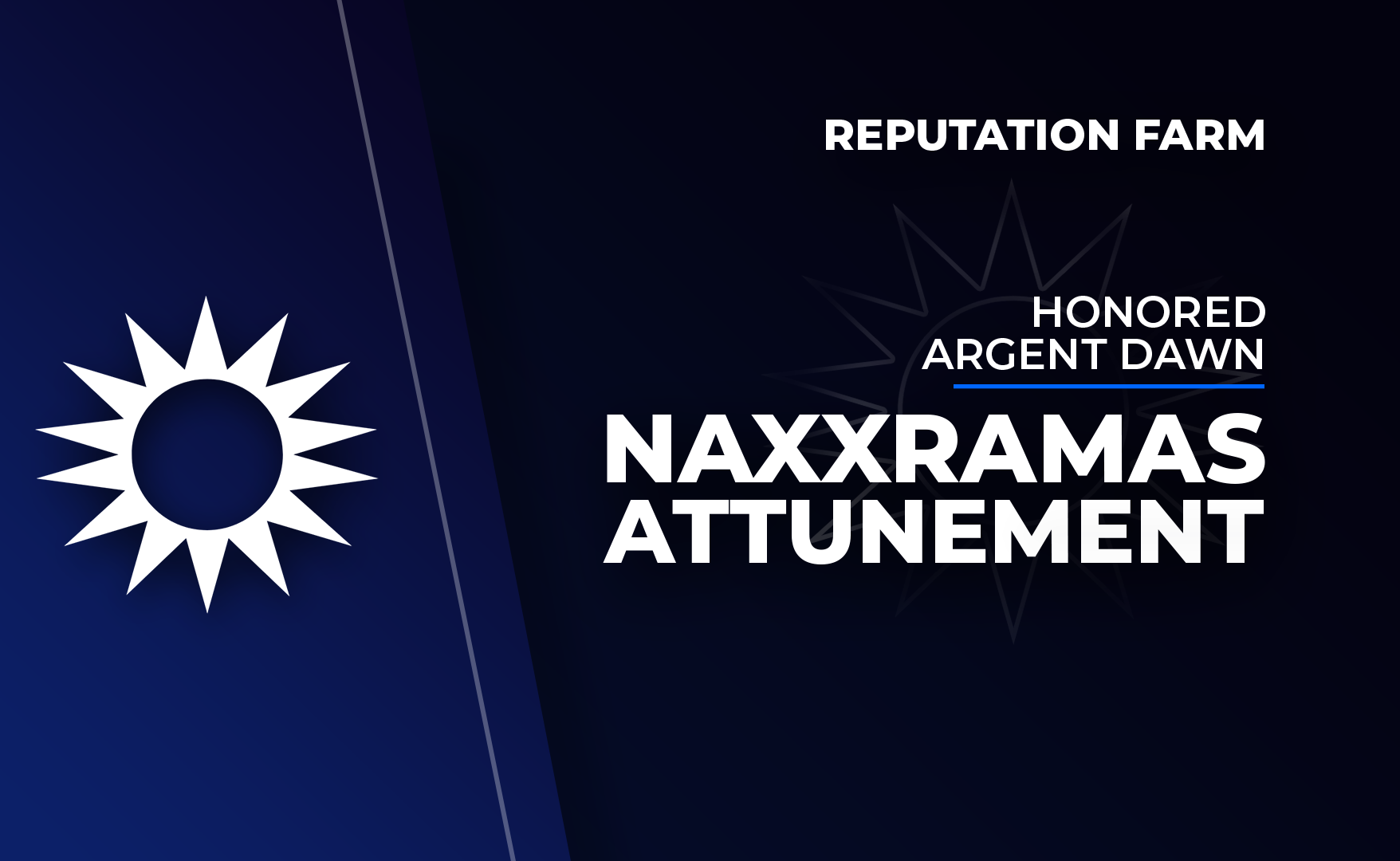 Naxxramas Attunement